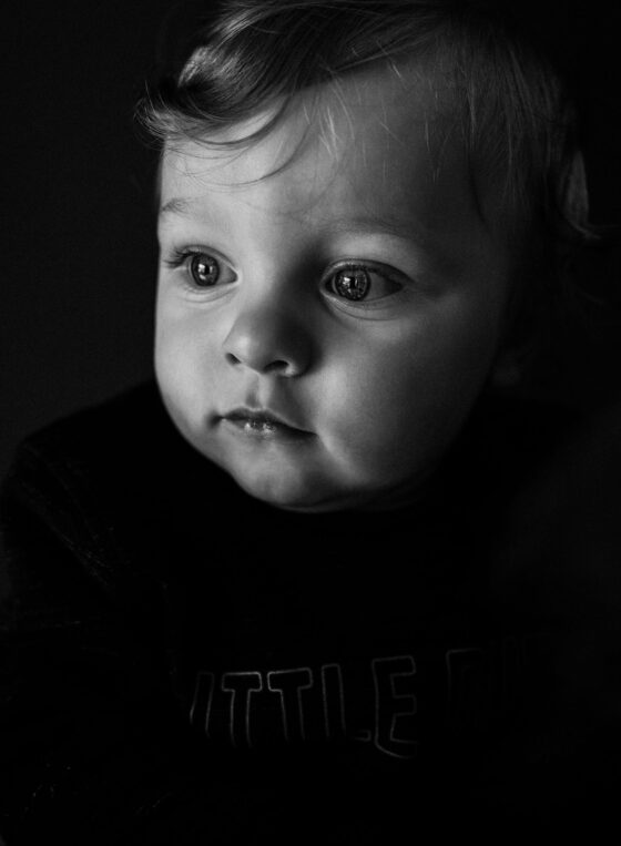 Portrait monochrome von Model Mara